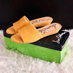 ✨New SAM EDELMAN Liliana Suede Slide Sandals